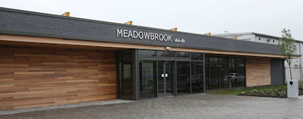 Commercial construction example - Meadowbrook Leisure Centre